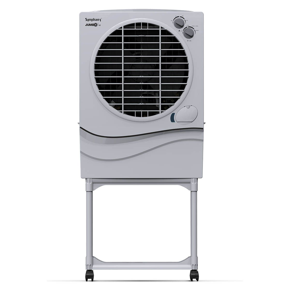 Symphony Jumbo 41 Desert Air Cooler 41-litres with Trolley