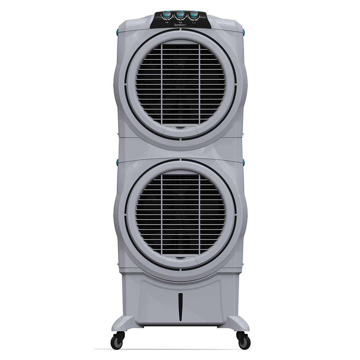 Symphony Sumo 75 XL DD Powerful Double Decker Desert Air Cooler 75-litres with Double +Air Fan